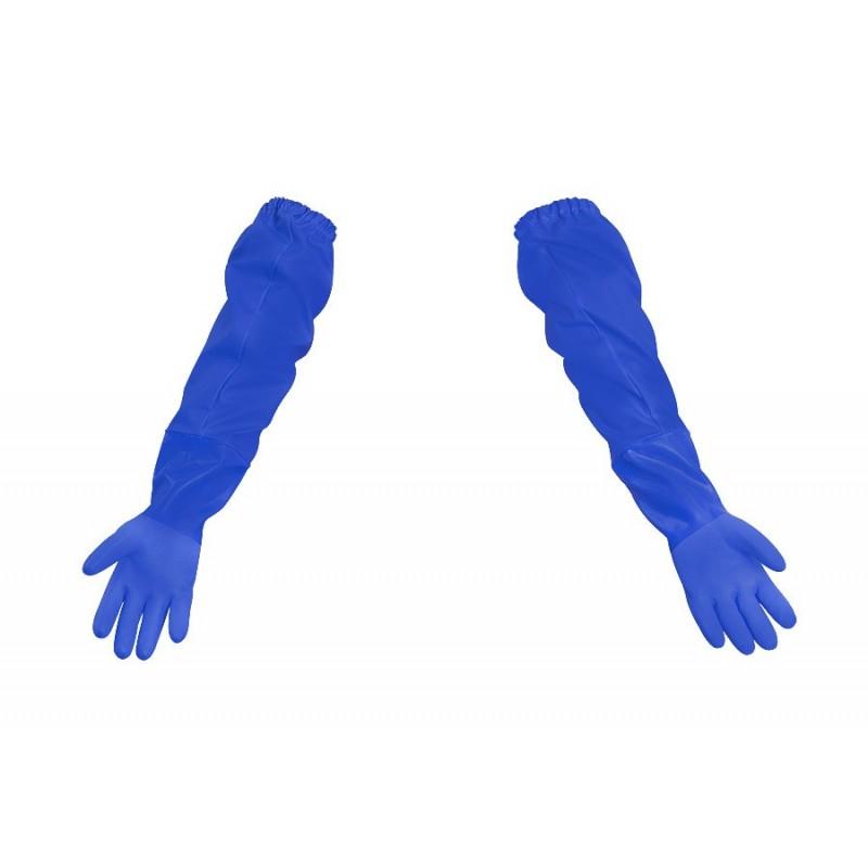 Rękawice rybackie z narękawkiem wodoochronne 043