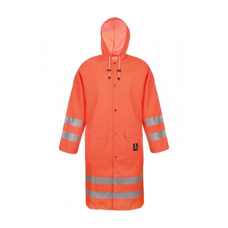 Płaszcz wodoochronny z pasami odblaskowymi 1102