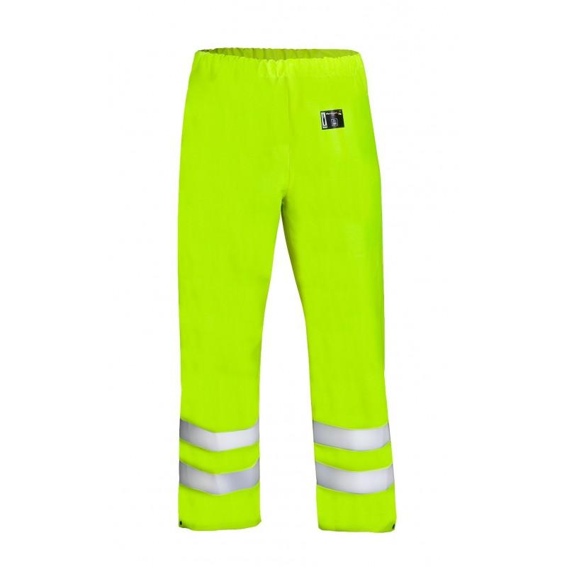 Spodnie do pasa wodoochronne ostrzegawcze 1012