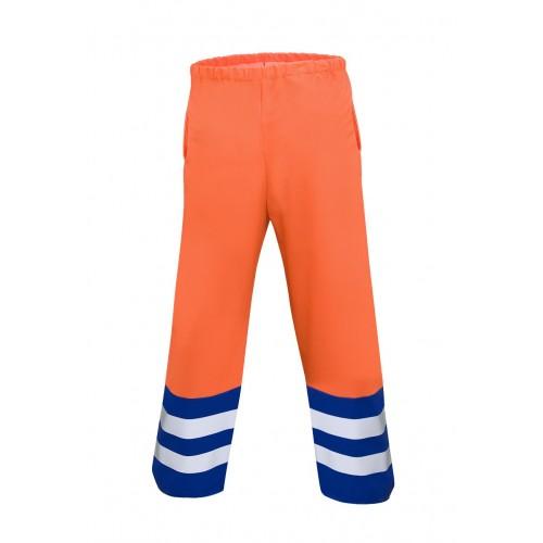 Spodnie do pasa wodoochronne ostrzegawcze 401R