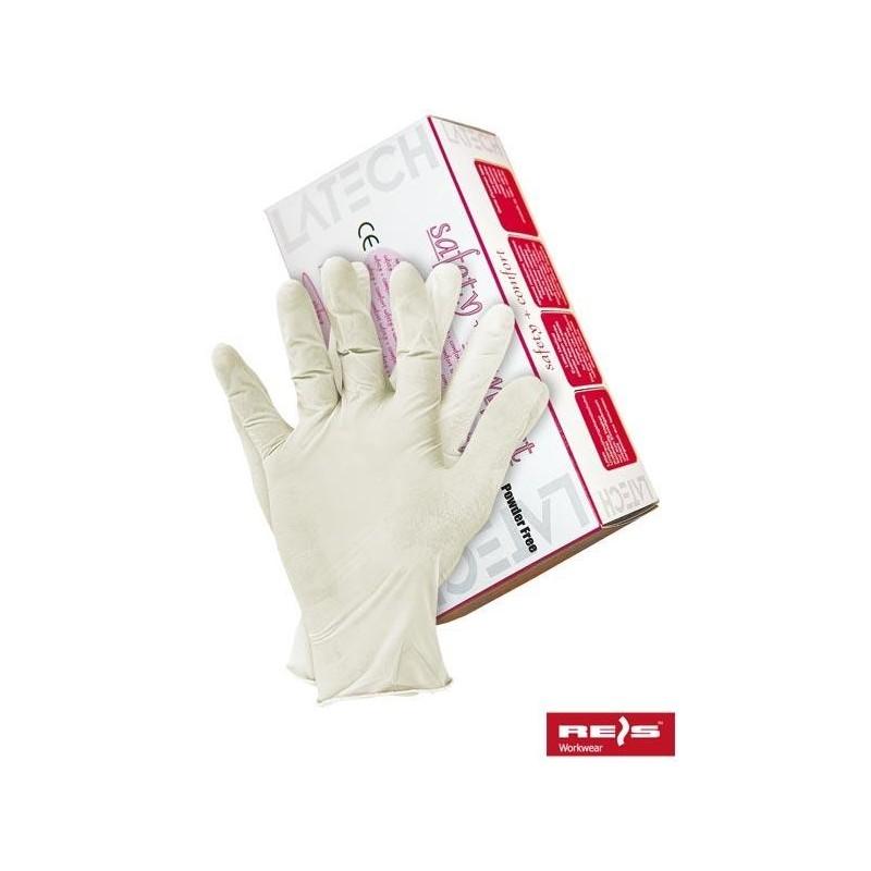 Rękawice lateksowe 8% VAT RALATEX W