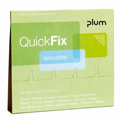 Plum Quick Fix wkłady plastrów wykrywalnych (45 plastrów)