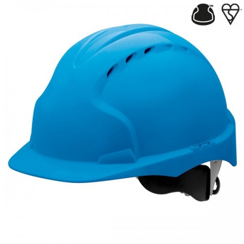 Hełm ochronny JSP EVO3 WR niebieski