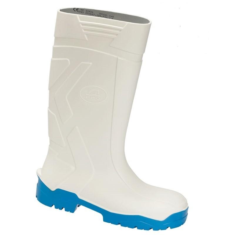 Buty bezpieczne z poliuretanu z metalowym podnoskiem - wz. 1044