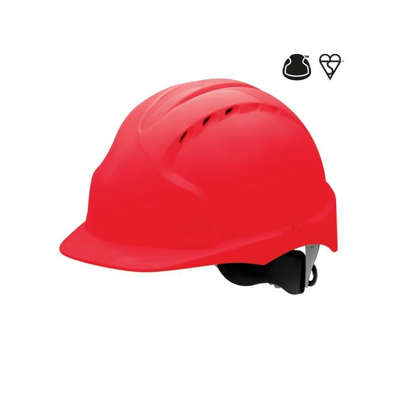 Hełm ochronny JSP EVO3 WR czerwony