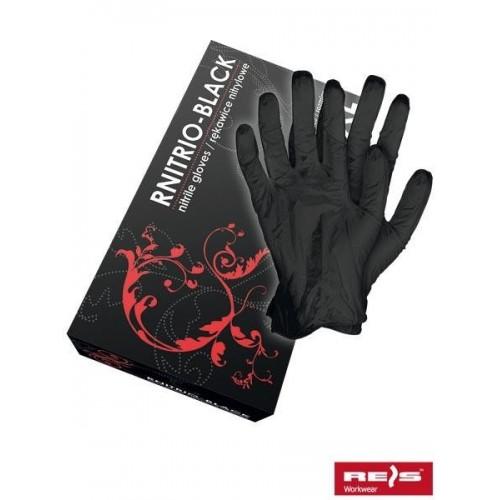 Rękawice nitrylowe RNITRIO-BLACK B