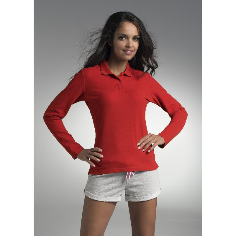 Koszulka Polo Promostars Ladies' Long Cotton