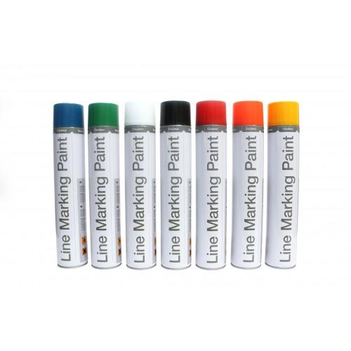 Farba do oznakowania trwałego biała 750 ml