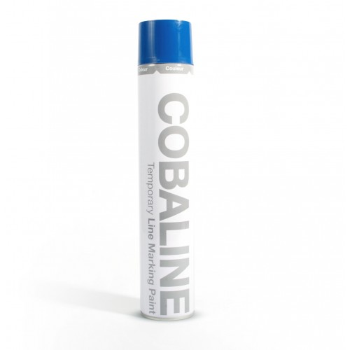 Farba do oznakowania tymczasowego niebieska 750 ml