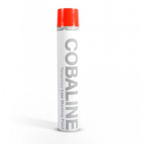 Farba do oznakowania tymczasowego czerwona 750 ml