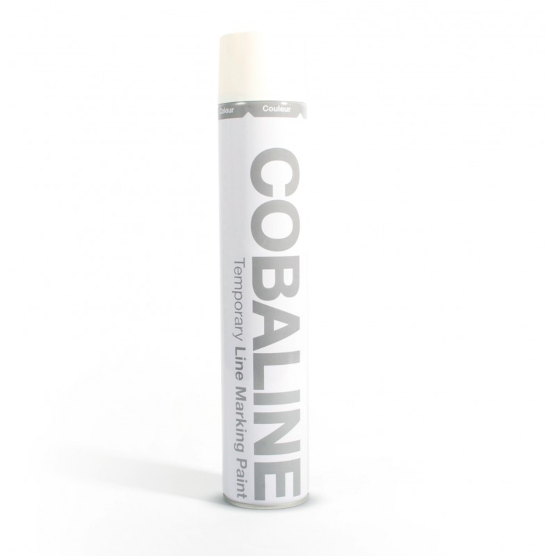 Farba do oznakowania tymczasowego biała 750 ml