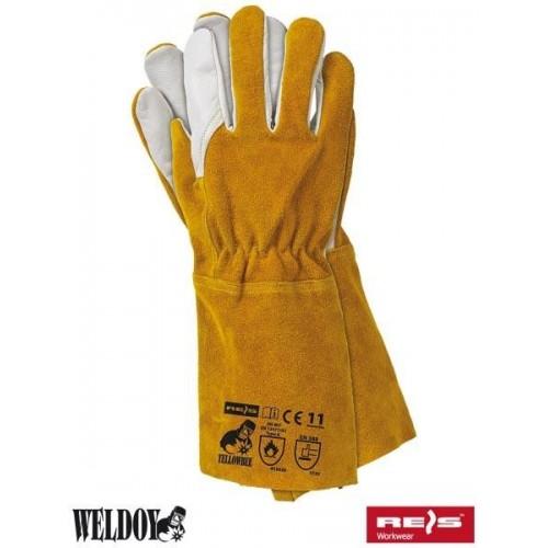 Rękawice spawalnicze YELLOWBEE 11