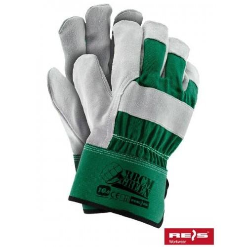 Rękawice wzmacniane RBCMGREEN ZJS 10