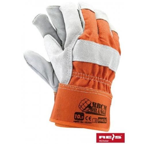 Rękawice wzmacniane RBCMORANGE PJS 10