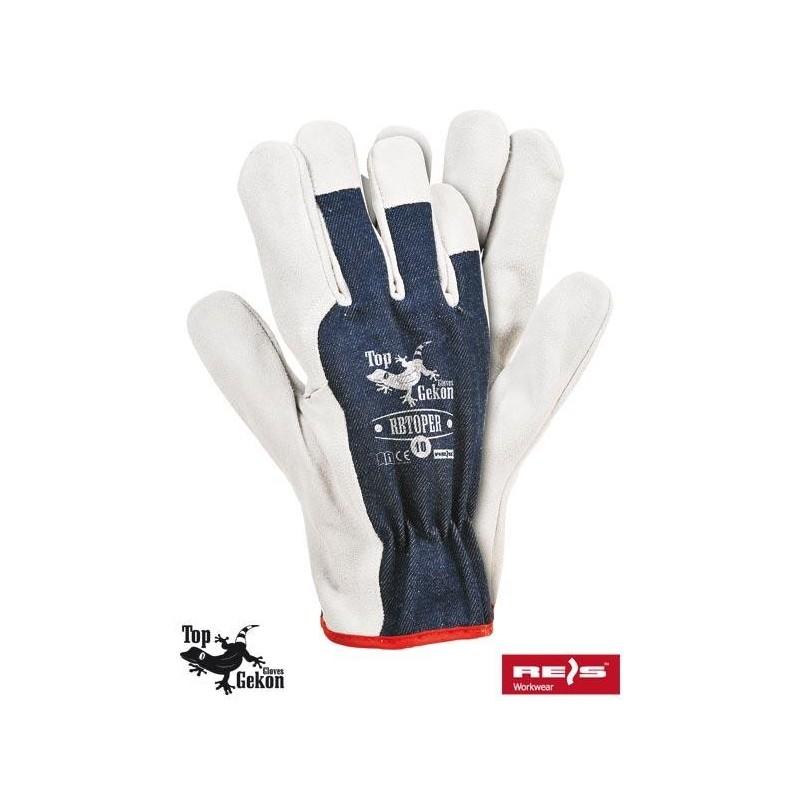 Rękawice wzmacniane RBTOPER GW 10