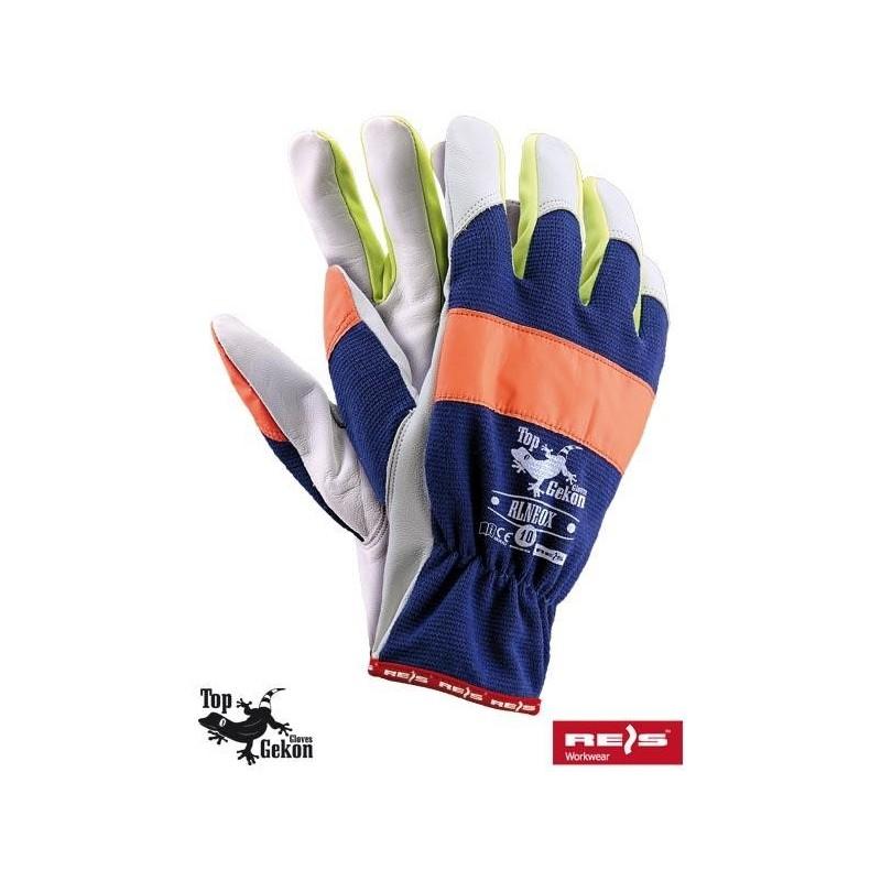 Rękawice wzmacniane RLNEOX GPYW 10
