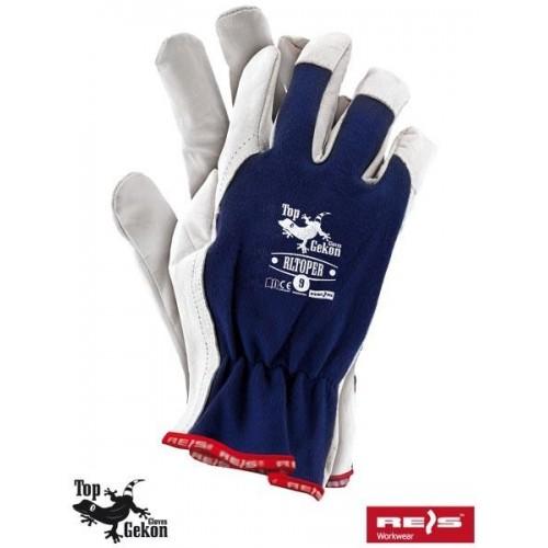 Rękawice wzmacniane RLTOPER GW 7-10