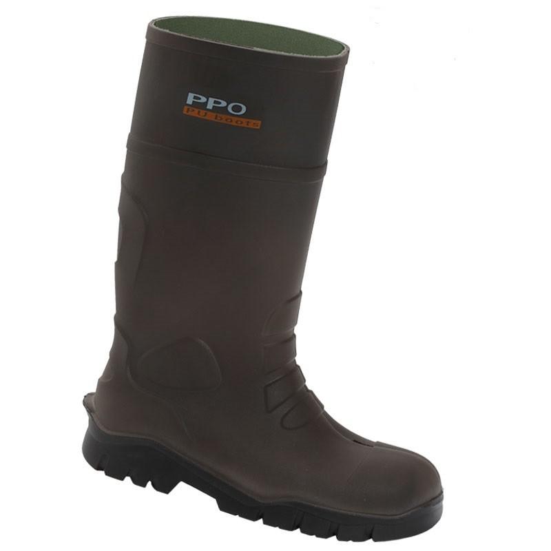 Buty bezpieczne z poliuretanu z metalowym podnoskiem - wz. 2048