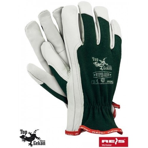 Rękawice wzmacniane RLTOPER-GREEN ZW