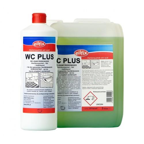 WC Plus żel do mycie urządzeń sanitarnych