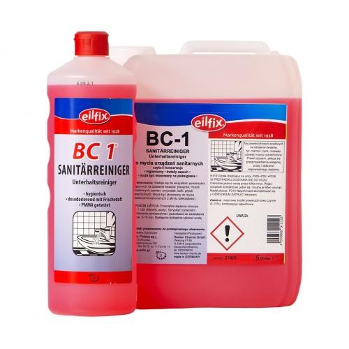 BC-1  Sanitärreiniger SAUER (kwaśny) płyn do mycia urządzeń sanitarnych