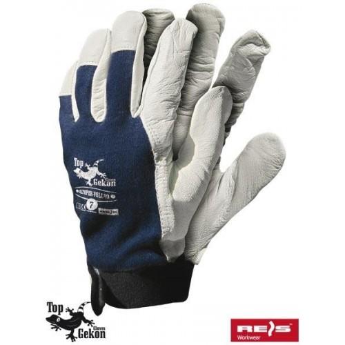 Rękawice wzmacniane RLTOPER-VELCRO GW