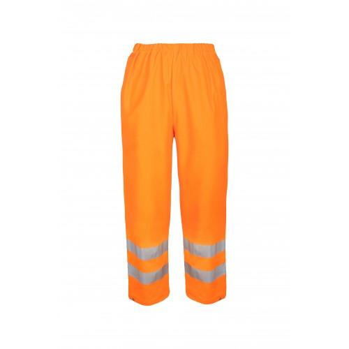 Spodnie do pasa wodoochronne ostrzegawcze AquaPros 4186