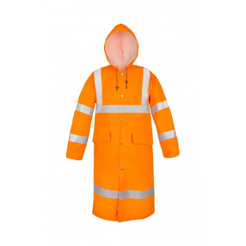 Płaszcz wodoochronny ostrzegawczy AquaPros 4188