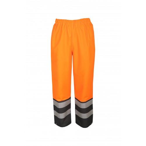 Spodnie do pasa wodoochronne ostrzegawcze AquaPros 4286