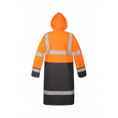 Płaszcz wodoochronny ostrzegawczy AquaPros 4288