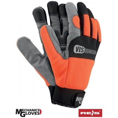 Rękawice monterskie RMC-VISIONER PBS