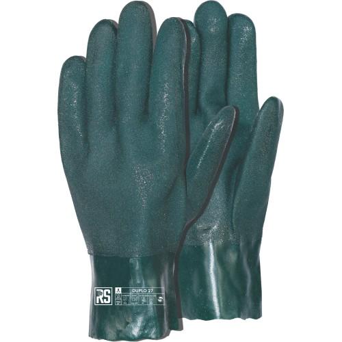 Rękawica z PVC przeciwchemiczna RS DUPLO 27