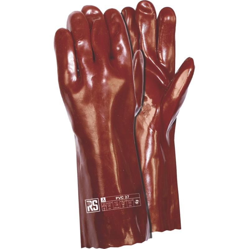 Rękawica z PVC przeciwchemiczna RS PVC 58