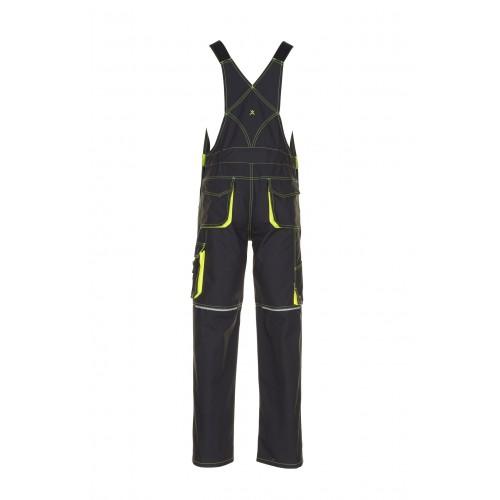 Spodnie ogrodniczki Basalt Neon