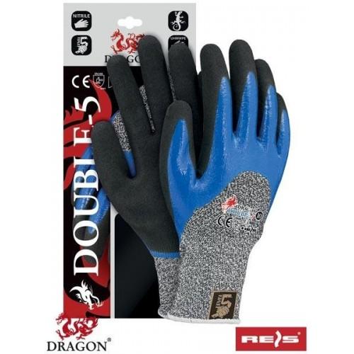 Rękawice antyprzecięciowe DOUBLE-5 WBNB 10