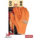 Rękawice ochronne FLUON-ORANGE PP