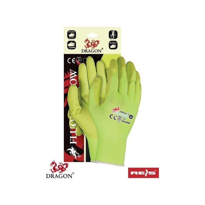 Rękawice ochronne FLUON-YELLOW YY