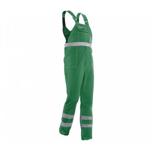 Spodnie ogrodniczki Brixton Classic odblask