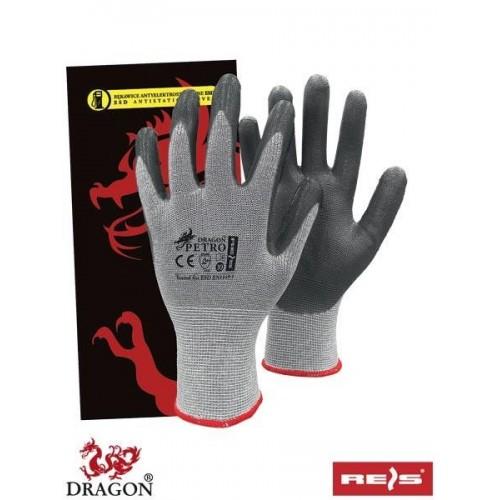 Rękawice antyelektrostatyczne PETRO SWS