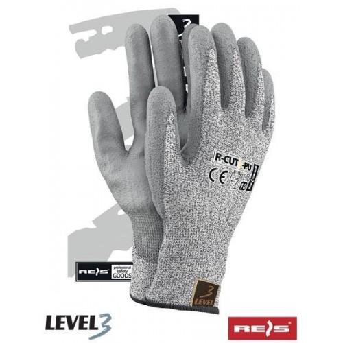 Rękawice antyprzecięciowe R-CUT3-PU SS