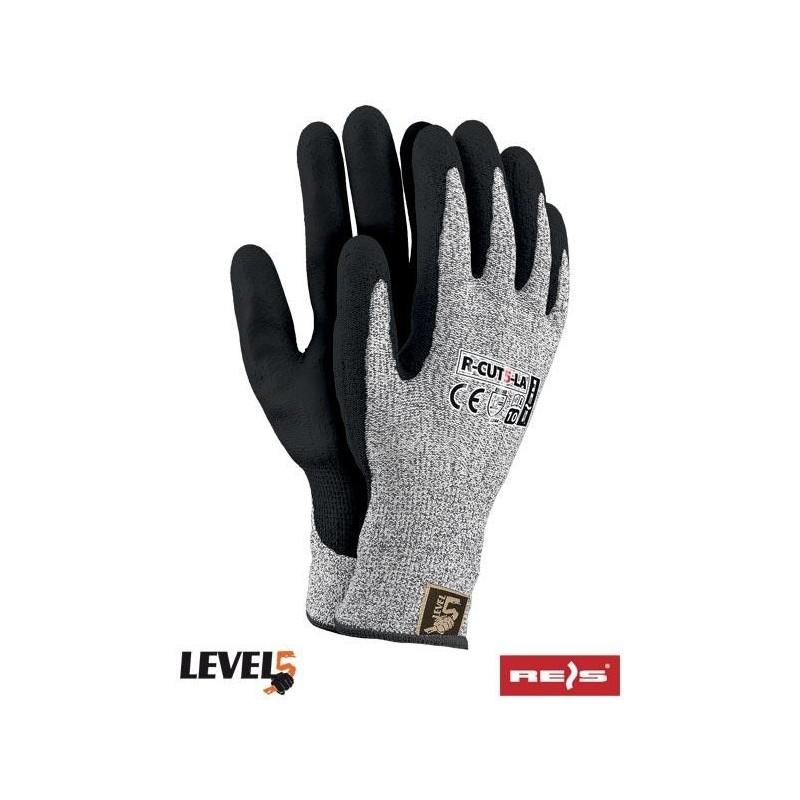 Rękawice antyprzecięciowe R-CUT5-LA SB