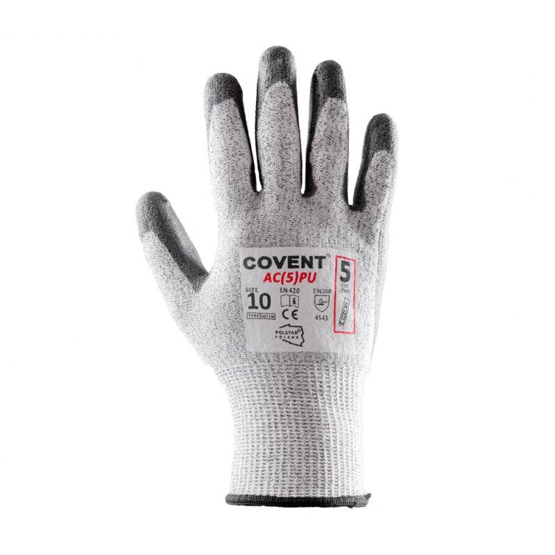 Rękawice antyprzecięciowe Covent AC(5) PU