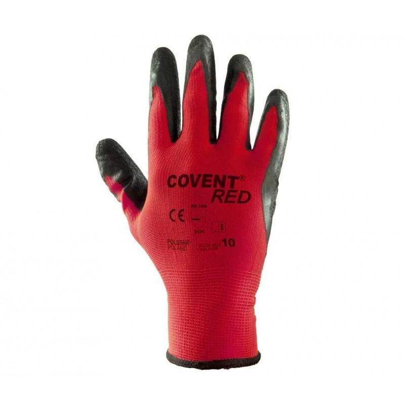 Rękawice powlekane Covent Red