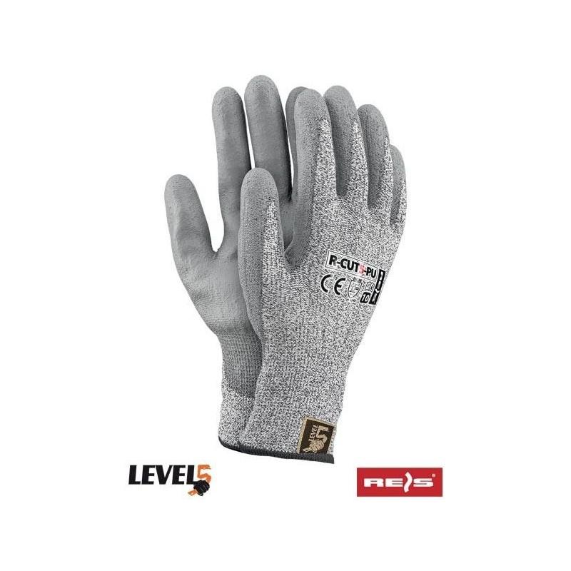 Rękawice antyprzecięciowe R-CUT5-PU SS