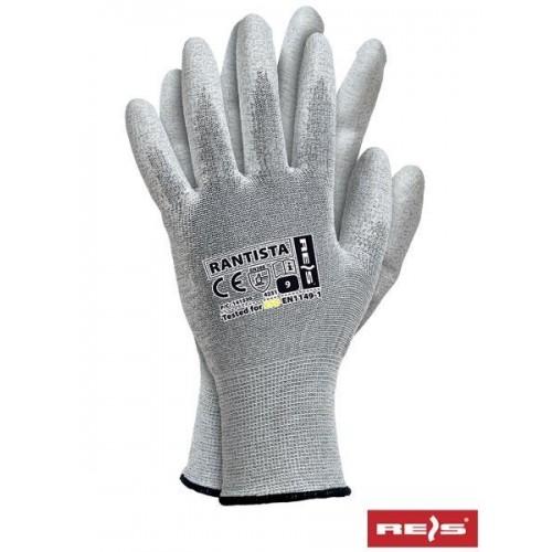 Rękawice antyelektrostatyczne RANTISTA BWW