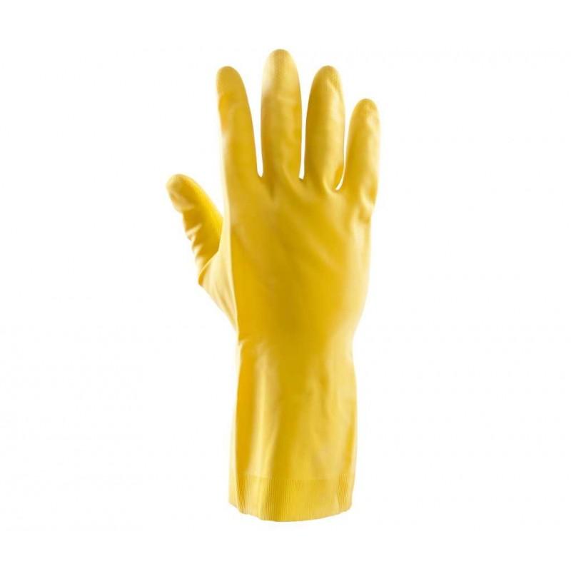 Rękawice gumowe flokowane Summitech POLSTARITTA