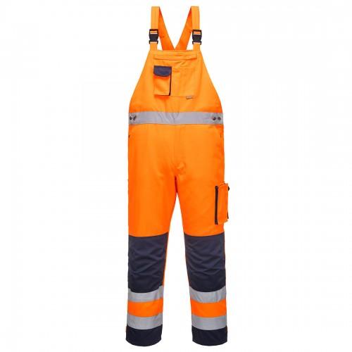 Spodnie ogrodniczki ostrzegawcze Dijon TX52