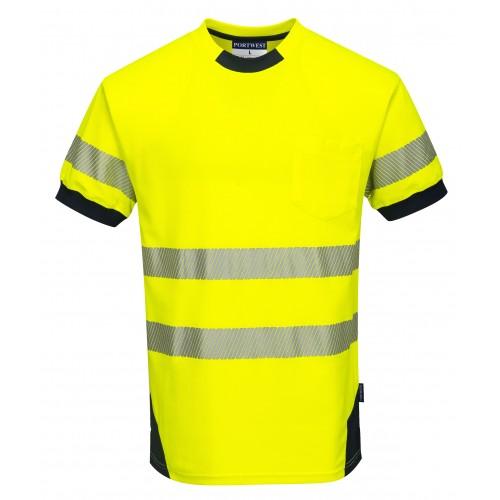 Koszulka ostrzegawcza Vision T183
