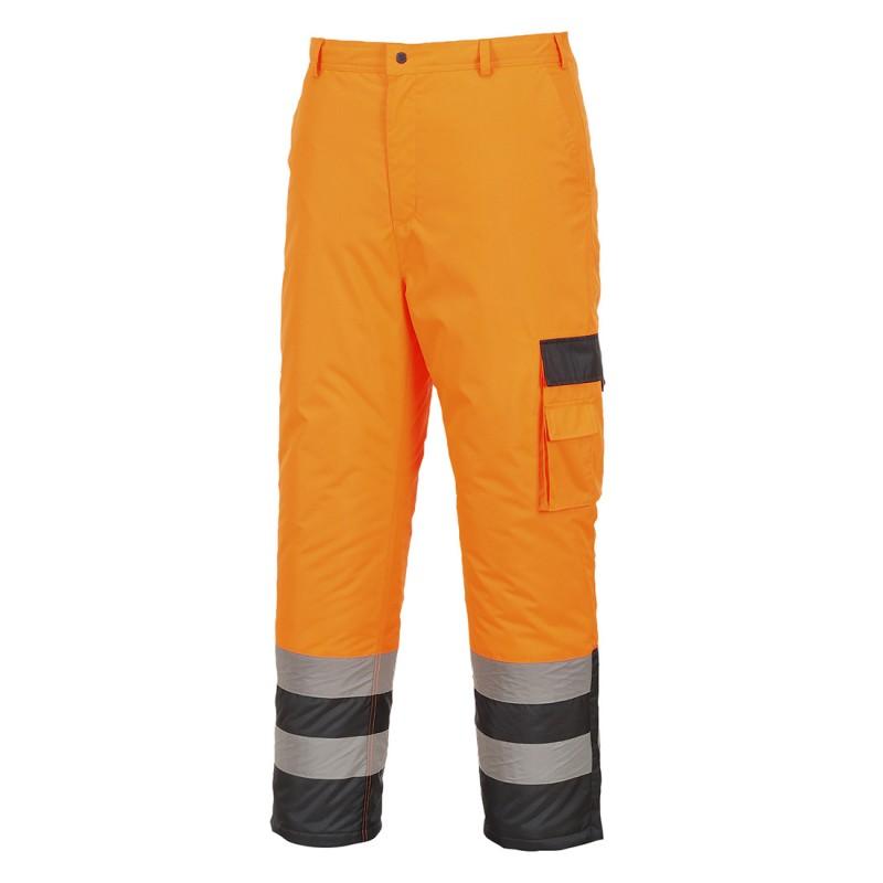 Spodnie ostrzegawcze ocieplane S686
