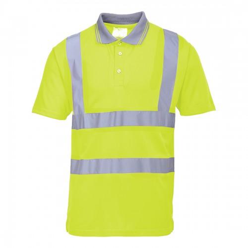 Koszulka polo ostrzegawcza S477